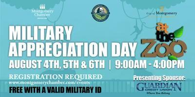 Montgomery Chamber Extends 2020 Military Appreciation Day at the Zoo