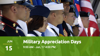 Montgomery Zoo and Montgomery Area Chamber of Commerce celebrates Military Appreciation Days, June 15-17