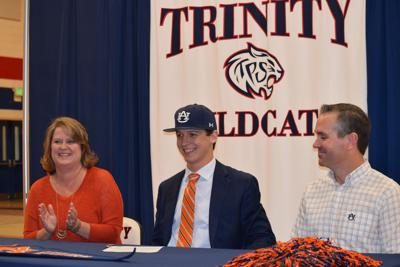 Trace Bright fulfills dream by signing with Auburn