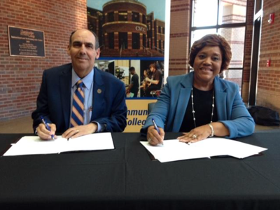 Auburn University at Montgomery and Chattahoochee Valley Community College form partnership for student success