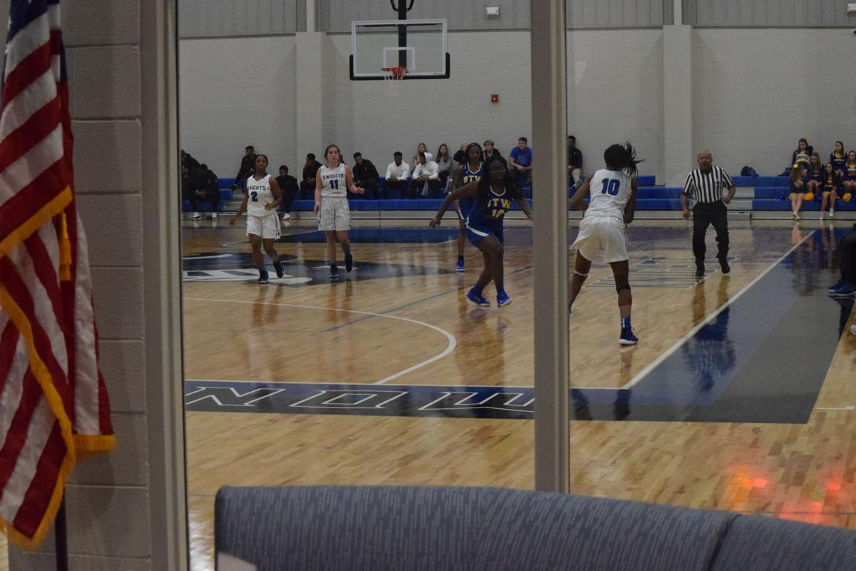 Catholic gym makes basketball debut