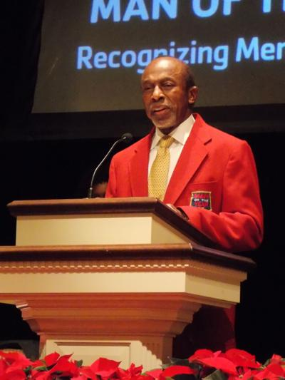 Crowell named YMCA Man of the Year