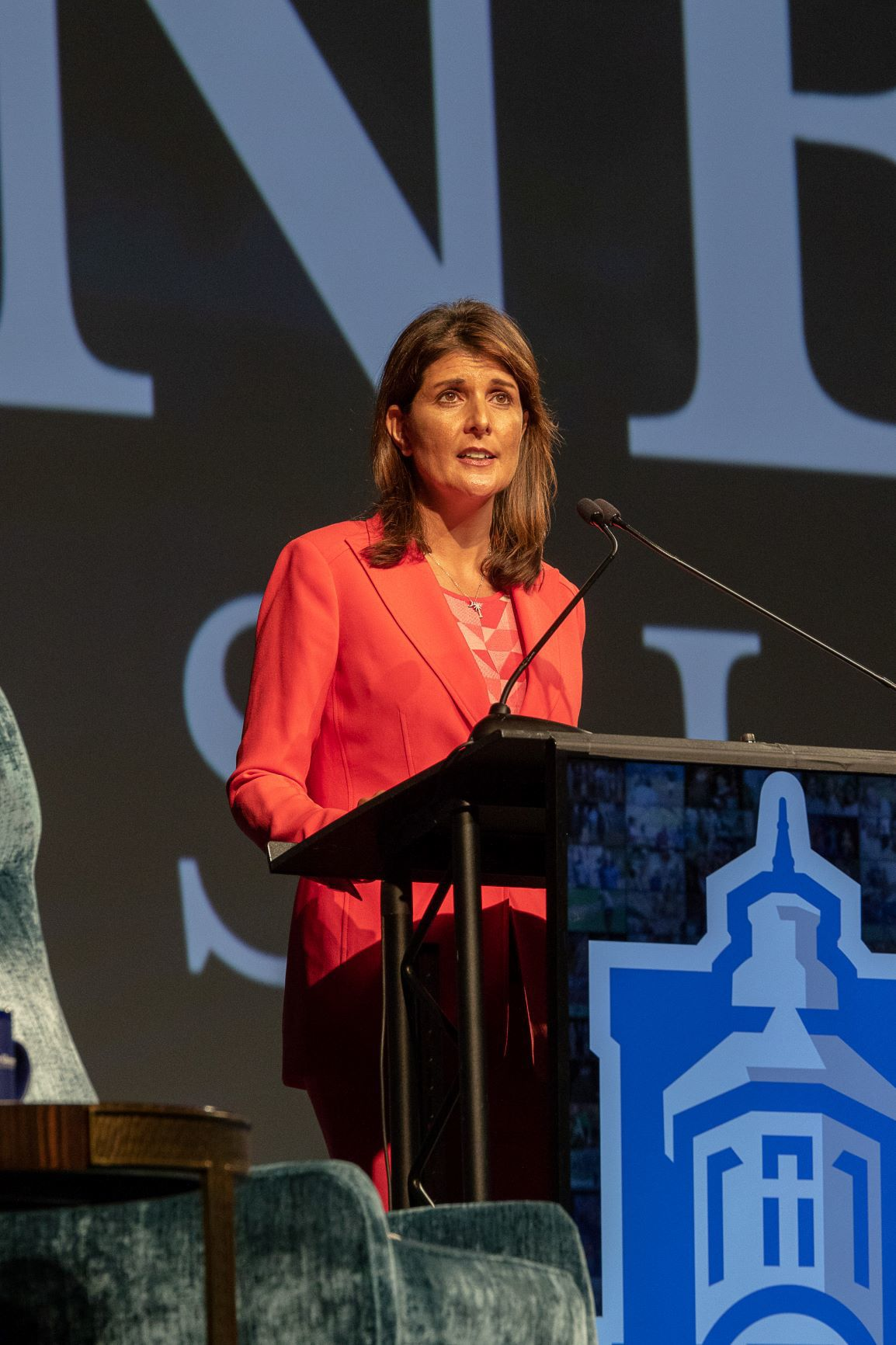 Nikki Haley speaks to sold out crowd at  Faulkner University's Annual Benefit Dinner - 2