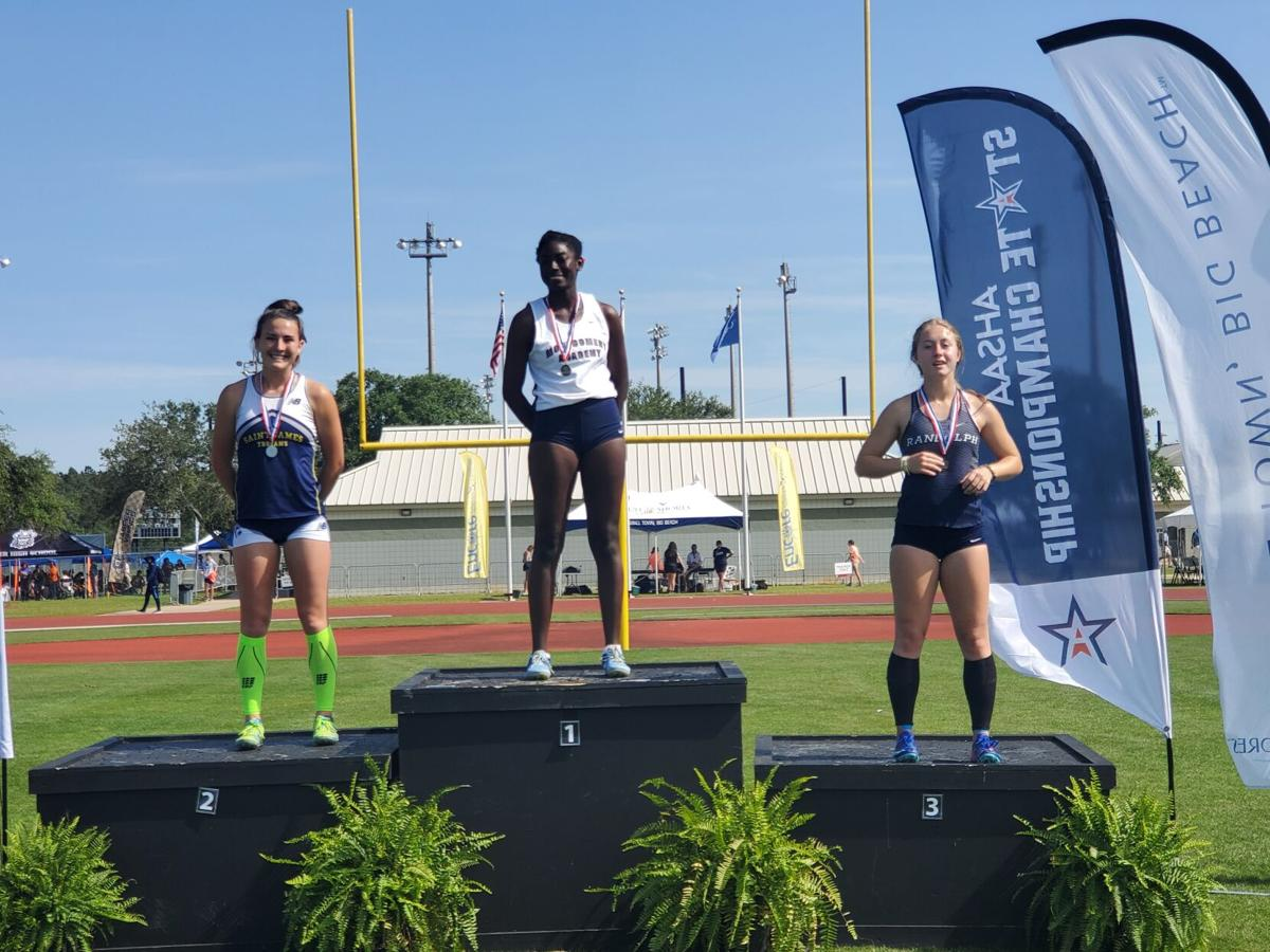 Montgomery Academy girls place third in 4A state outdoor track