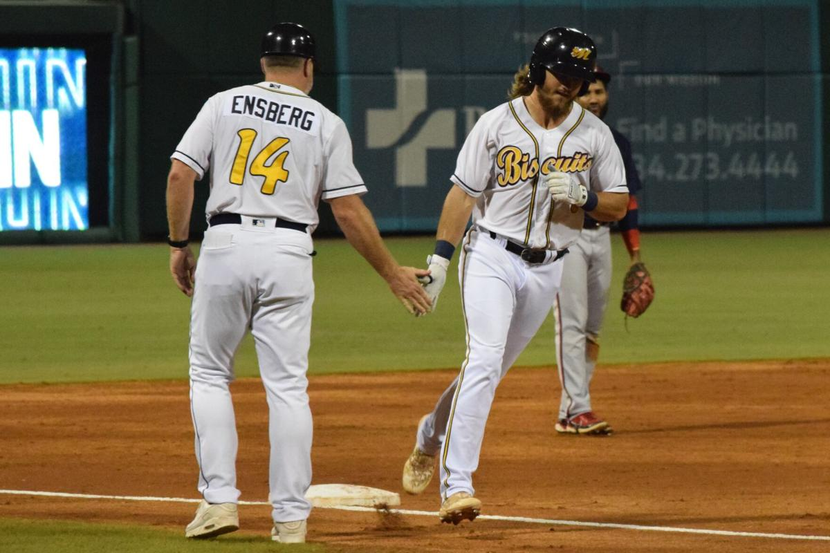 Biscuits stay hot, win first game of championship series