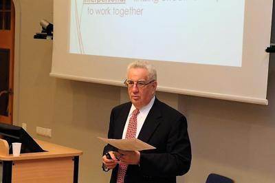 Researching AUM - Roger Ritvo advises NGOs