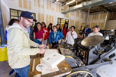Montgomery celebrates National  Manufacturing Month with behind-the-scenes experiences for hundreds of students