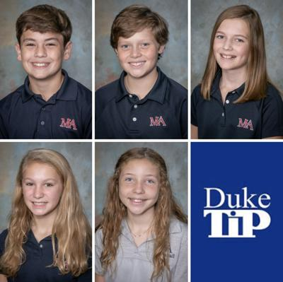 MA Students recognized by Duke TIP