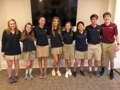 Montgomery Academy students  participate in Poetry Out Loud contest