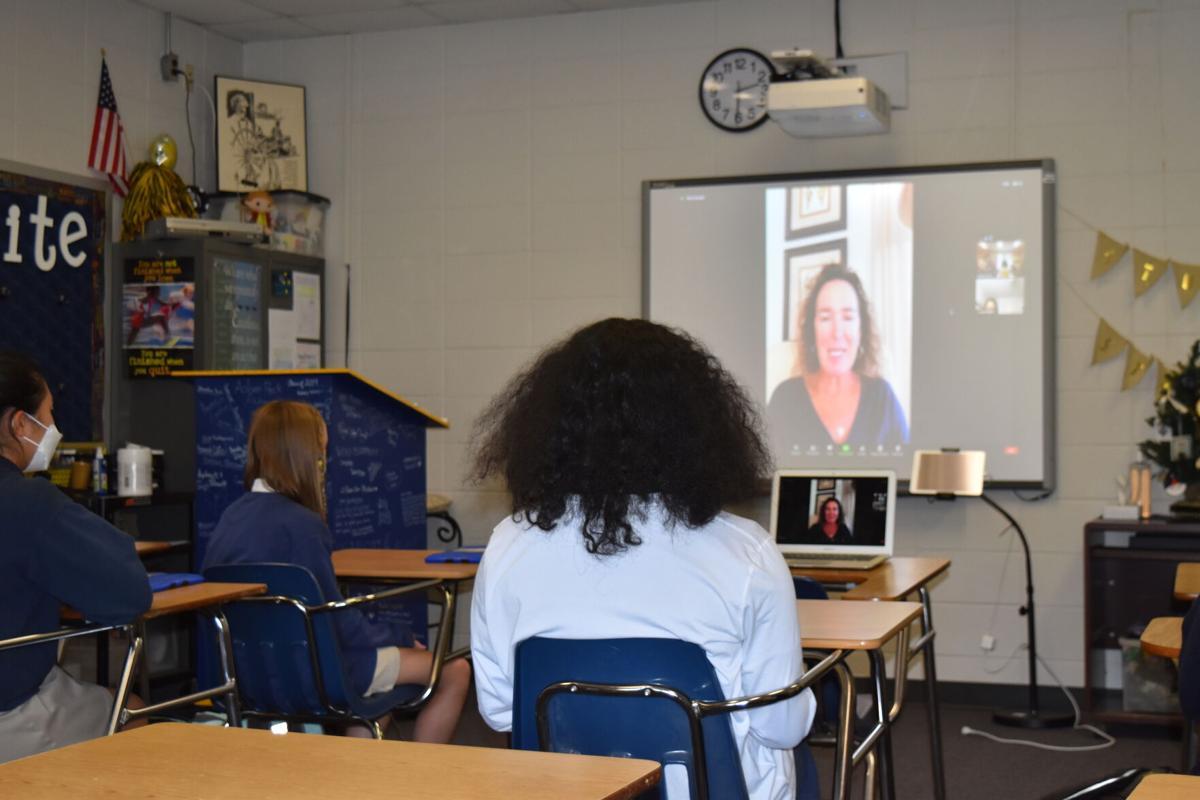 Saint James School 8th Grade Career Week Continues Despite the Pandemic - 2