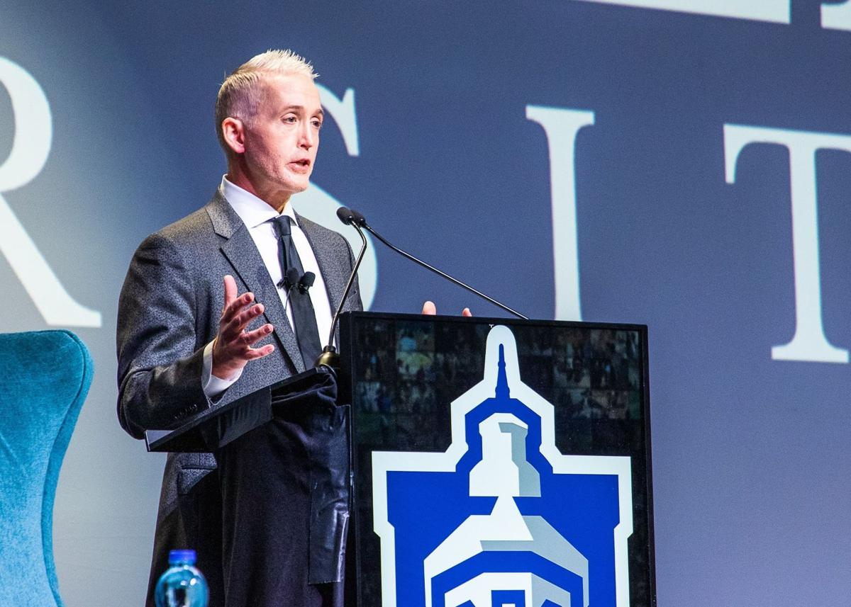 Frontline workers and healthcare professionals  honored at Faulkner University's Annual Benefit  Dinner featuring Trey Gowdy - 2