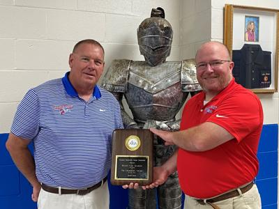 Macon East recognized with Blue Ribbon/Chairman's Award