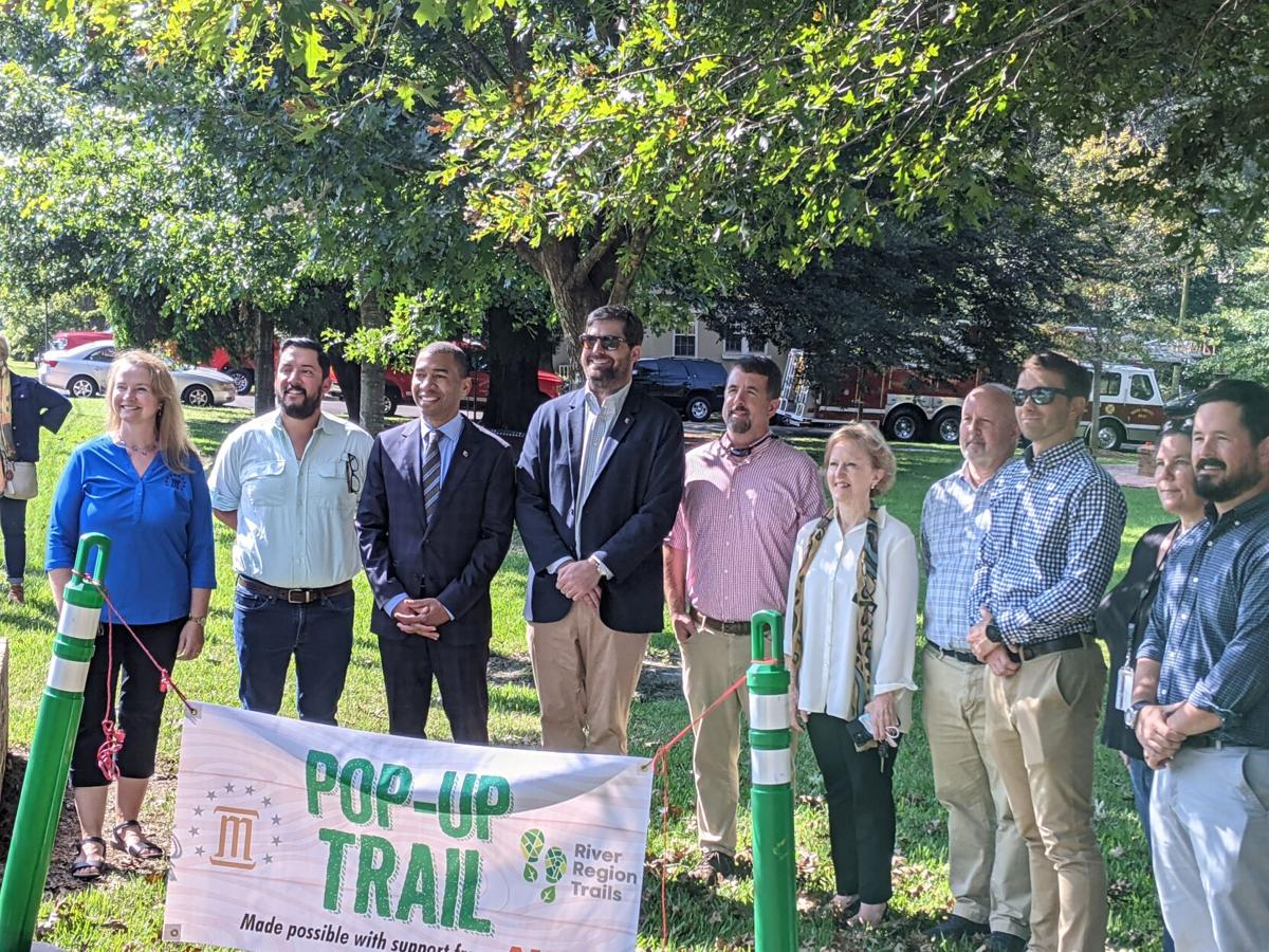 Montgomery Opens 'Pop-up' Trail as Prelude to a Larger Project - 1