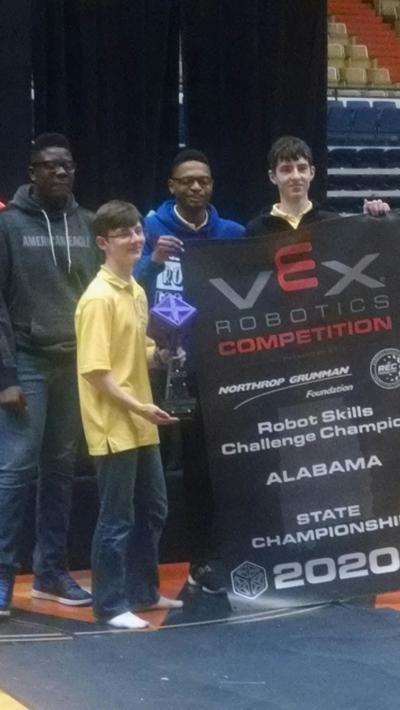 Montgomery Catholic RoboKnights Win State Tournament