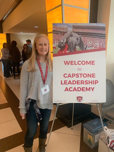 Saint James sophomore invited to Capstone Leadership Academy