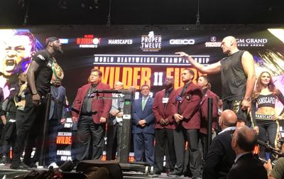 Wilder-Fury Weigh-In Sets Stage for Huge Title Fight