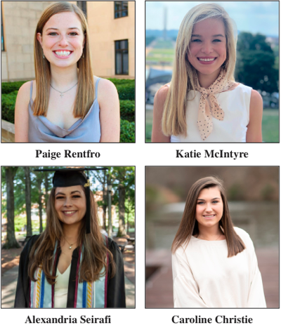 Montgomery Alumni Panhellenic Council Is Proud To Announce The 2021 Scholarship Winners