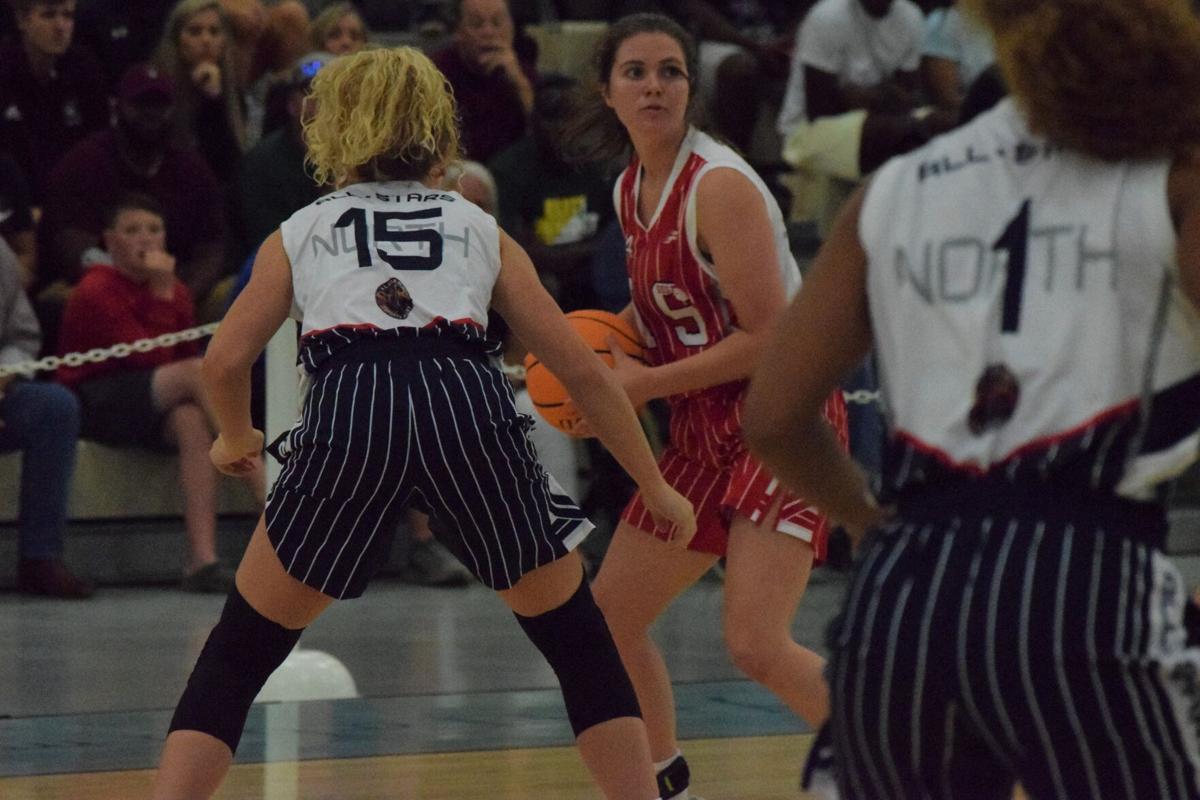 North all-star girls win basketball game again, 66-61