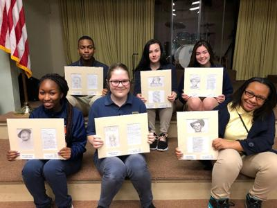 Success Unlimited Academy art students chosen for the Alabama Arts Alliance Exhibition