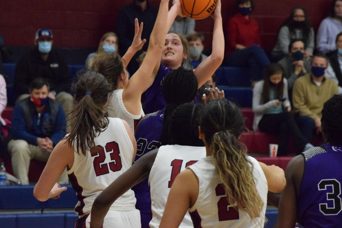 Caddell torches PCA to give MA girls area championship