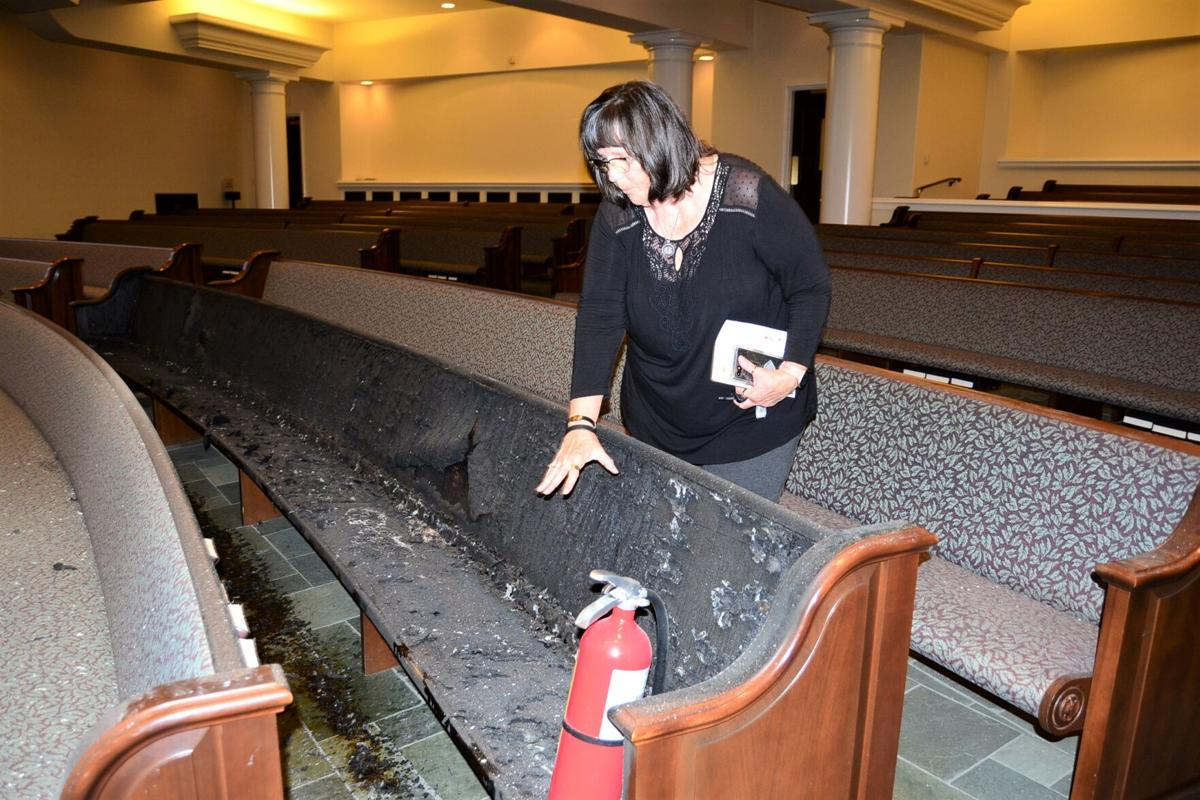 Historic First Baptist Church of Montgomery Survives Attack - 1