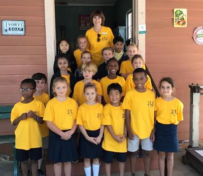 Saint James School Travels Back in Time a1