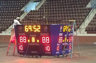 Increased utilization of Garrett by hosting high school basketball tourneys