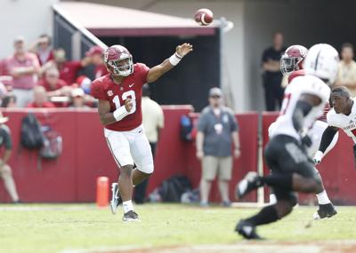Tagovailoa putting up video game numbers