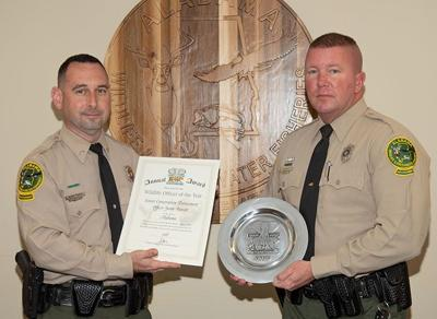 Conservation officer receives high honor