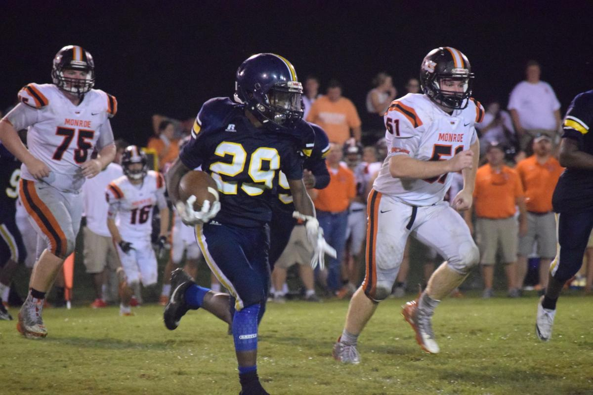 Monroe uses early lead for comfortable win over Success