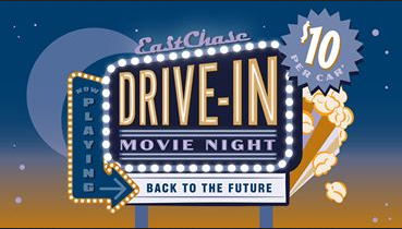 The Shoppes at Eastchase is closing out Summer with their final Drive-In Movie featuring Back to the Future