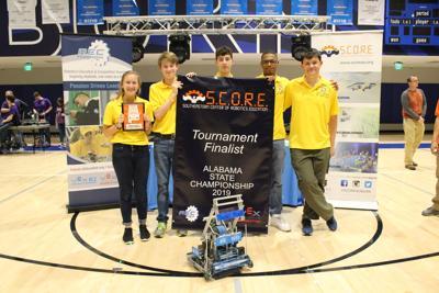 Montgomery Catholic Preparatory School Heads to Worldwide Robotics Competition