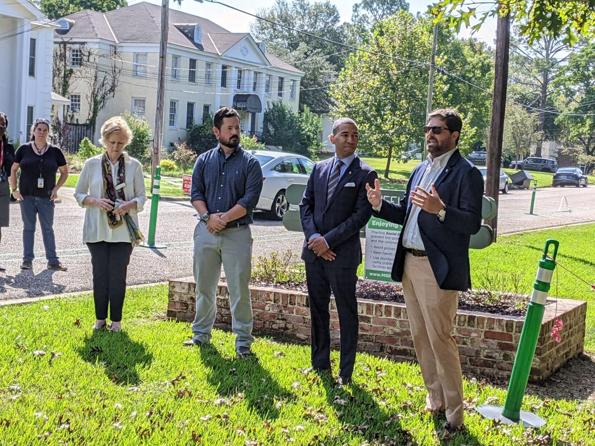 Montgomery Opens 'Pop-up' Trail as Prelude to a Larger Project - 2