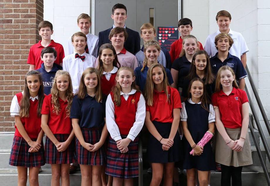Duke Talent Identification Program (TIP) Selects Trinity 7th Grade Students a1