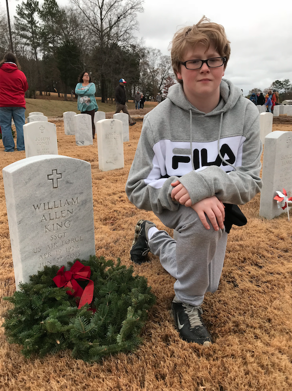 Montgomery Catholic students honor fallen  veterans with Wreaths Across America - 2