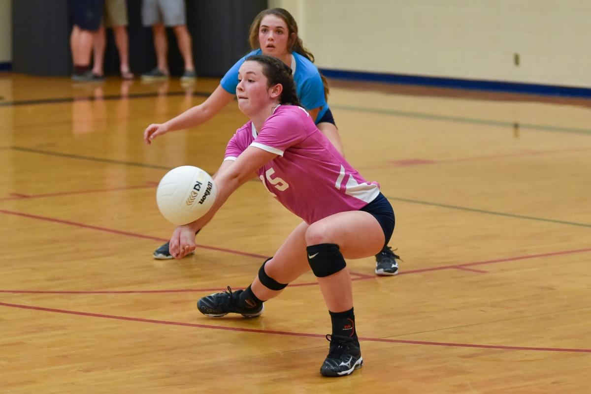 Trinity sweeps Montgomery Academy in volleyball