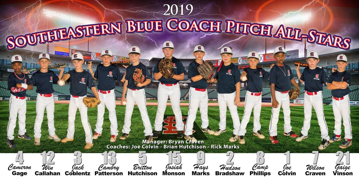 2019 Southeastern Blue Coach Pitching All-Stars
