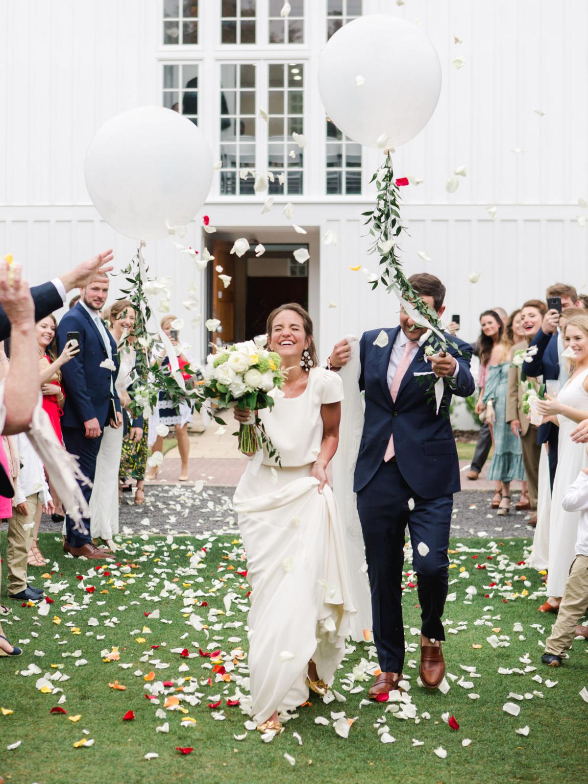 Mary Elizabeth Adams and Scott Grant exchange vows in Seaside - 2