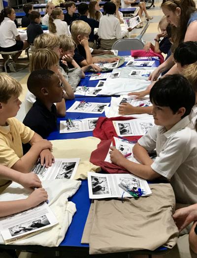 Saint James Elementary School Learns about Emergency Readiness