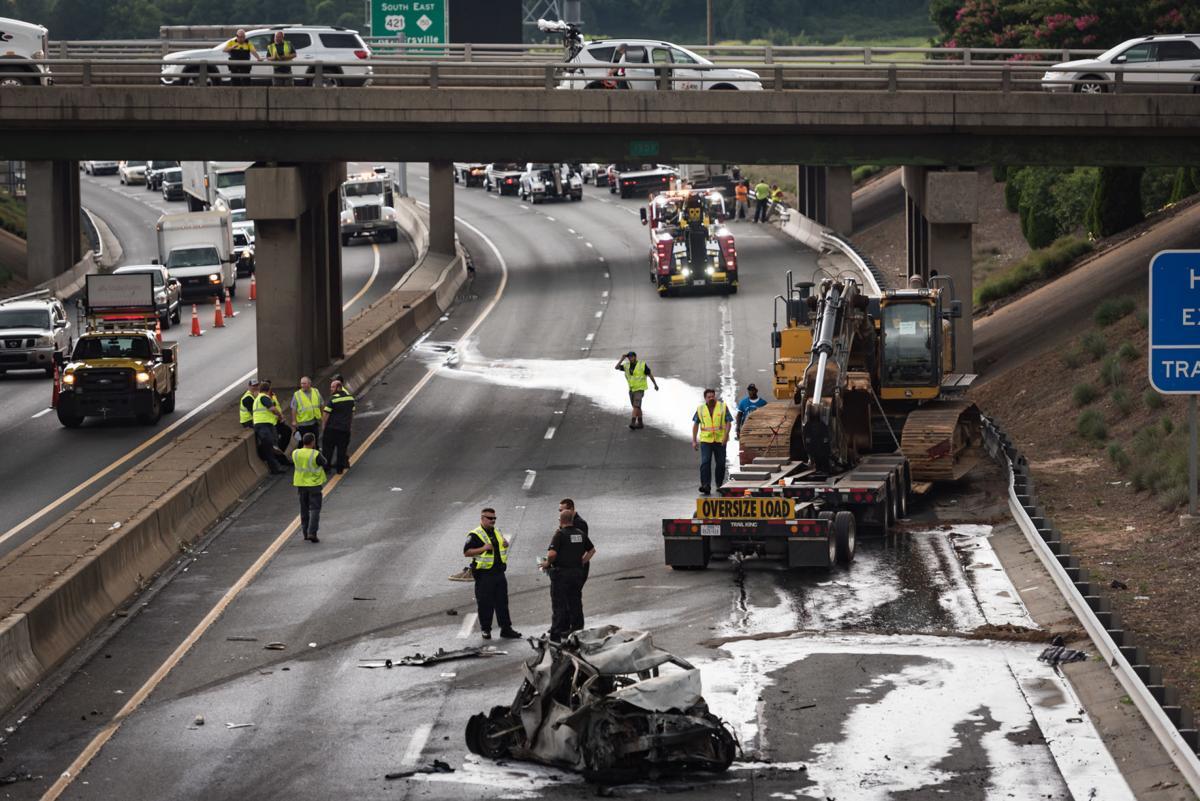 Southbound U.S. 52 Multi-Vehicle Crash