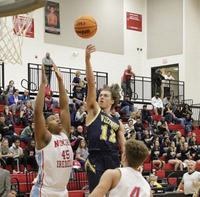South Iredell-North Iredell basketball 1