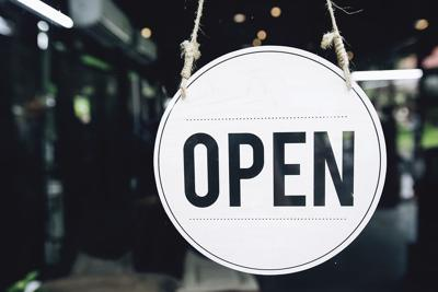 business open sign generic