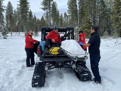 A woman went missing for six days. Rescuers found her inside an SUV buried in snow - alive.