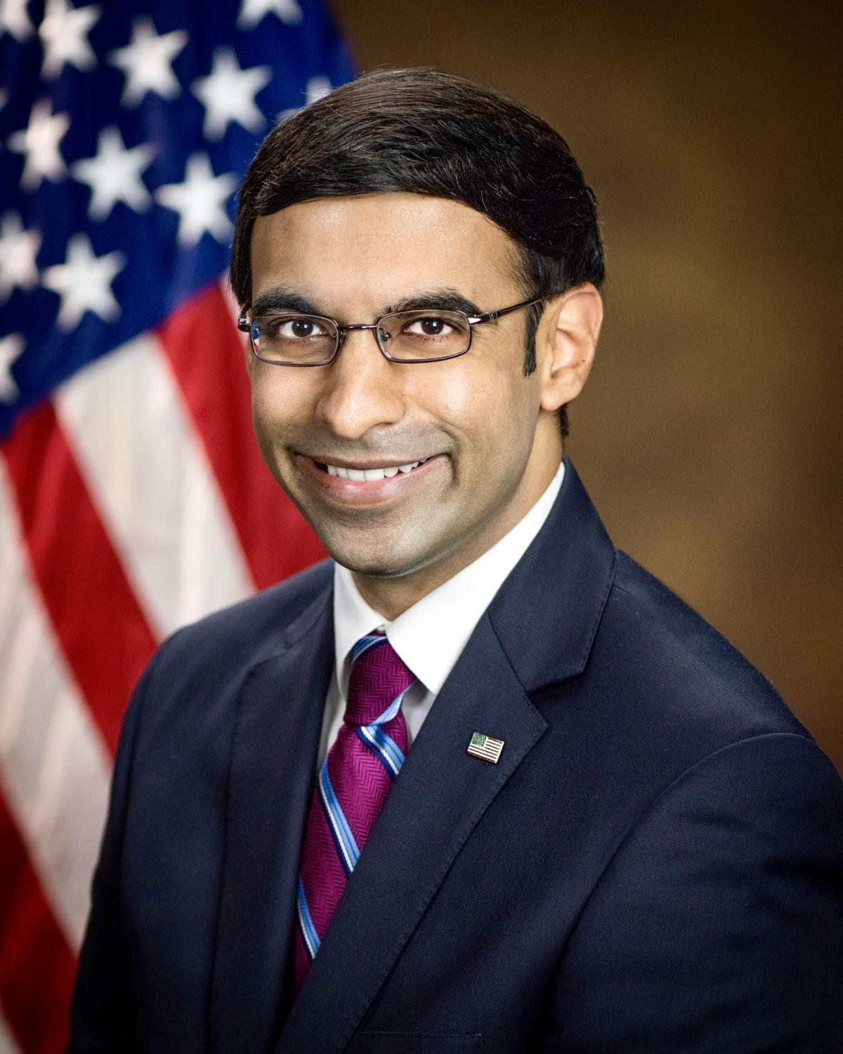 Raj Parekh, acting U.S. Attorney for the Eastern District of Virginia