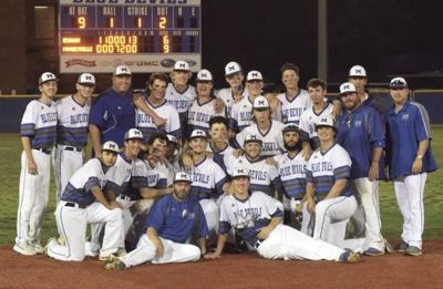 Mooresville sweeps Reagan baseball