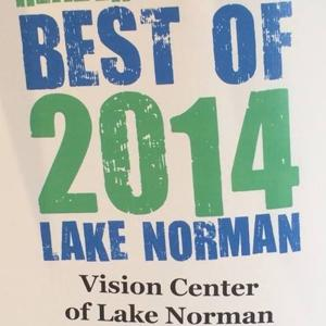 Vision Center of Lake Norman - Best of 2014
