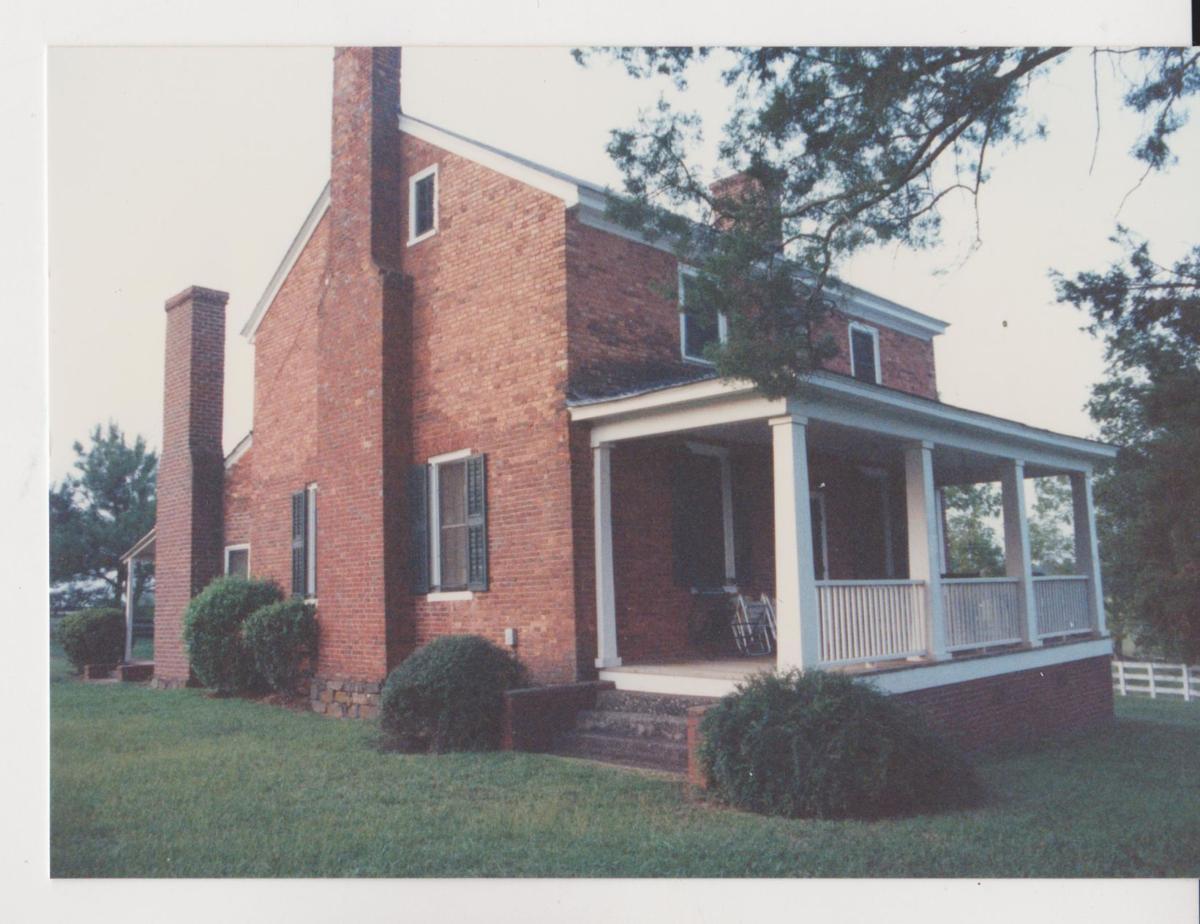 Wood Grove, Thomas and Mary Cowan's home at Bear Poplar in Rowan County. 001.jpg
