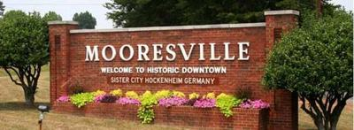 Mooresville sign