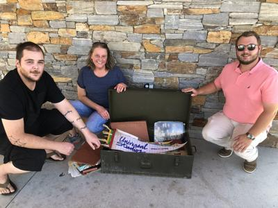 Marion man returns lost antique trunk to family