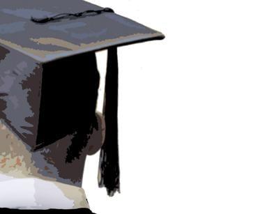 College generic graduation mortarboard graduate